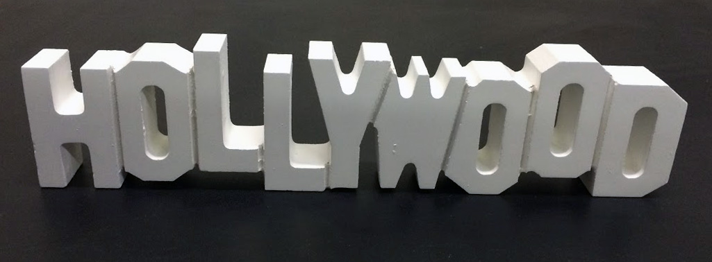 Hollywood Sign LtdEd Hollywood Souvenirs You Will Find Our Magnificent Hollywood Sign Decoration