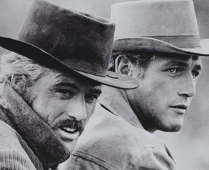 Paul Newman and Robert Redford Butch Cassidy and the Sundance K