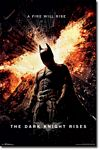 The Dark Knight Rises One sheet Movie poster