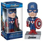 Captain America Bobble Head Wacky Wobbler