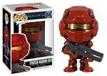 Pop! Spartan Warrior Red Vinyl Rotating Head