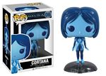 Pop! Cortana Blue Vinyl Rotating Head
