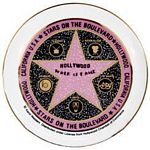 Walk of Fame Star Collector Plate