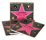 Walk of Fame Star Coasters
