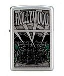 Hollywood Engraved Zippo Lighter
