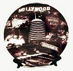 Hollywood collage Plate