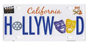Hollywood Arts License Plate