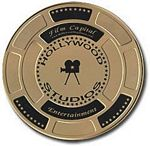 Hollywood Studios' Film Cans (Gold)