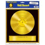 Gold Record Peel 'N Place