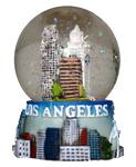 Los Angeles Snow Globe
