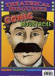 Comic Moustache - Party Costume Accessory