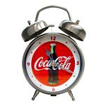 Coca-Cola Metal Twin Bell Ring Alarm Clock