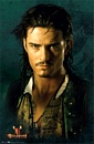 Orlando Bloom as Will Turner poster