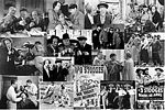 Thre Three Stooges Poster Collage