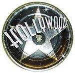 Hollywood Nights Paper Plates - 10.5""