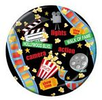 Lights, Camera, Action Paper Plates - 9""
