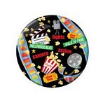 Lights, Camera, Action Paper Plates - 7""