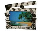 Clapboard Bronze Picture Frame 3.5x5""