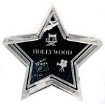 Black Walk of Fame Star Paper Weight