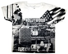 Hollywood  Collage T-shirt (white)