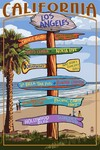 California Destinations Wood Plaque