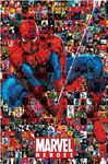Spiderman Collage Poster
