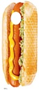 Place Your Face Hot Dog Cutout *847