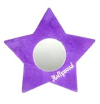 Plush Star Mirror -Violet