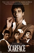 Scarface – Sepia poster