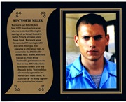 Wentworth Miller of Prison Break commemorative