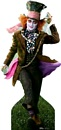 Alice in Wonderland - Mad Hatter - Johnny Depp cutout 131*