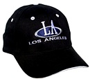 L.A. Full Black Cap