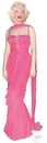 Marilyn Monroe in Pink Dress Cutout*1012