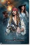Pirates of the Caribbean On Stranger Tides Movie Poster