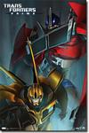 Transformers Comic Poster