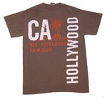 Palms Hollywood T-Shirt In Light Brown