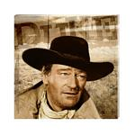 John Wayne Small Stretched Canvas