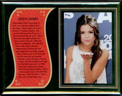 Selena Gomez Commemorative