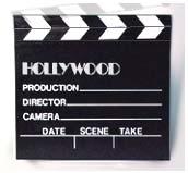 Director's Clapboard!