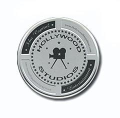 Mini 'Hollywood Studios' Film Cans (Silver)