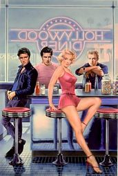 Hollywood Diner Poster