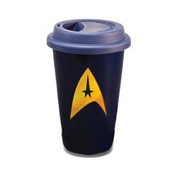 Star Trek 12 oz. Double Wall Ceramic Travel Mug